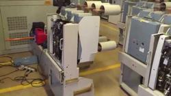Serviço de assistência técnica em disjuntor industrial