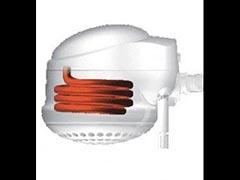 Resistência blindada aletada elétrica tubular