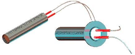Resistência elétrica tubular blindada